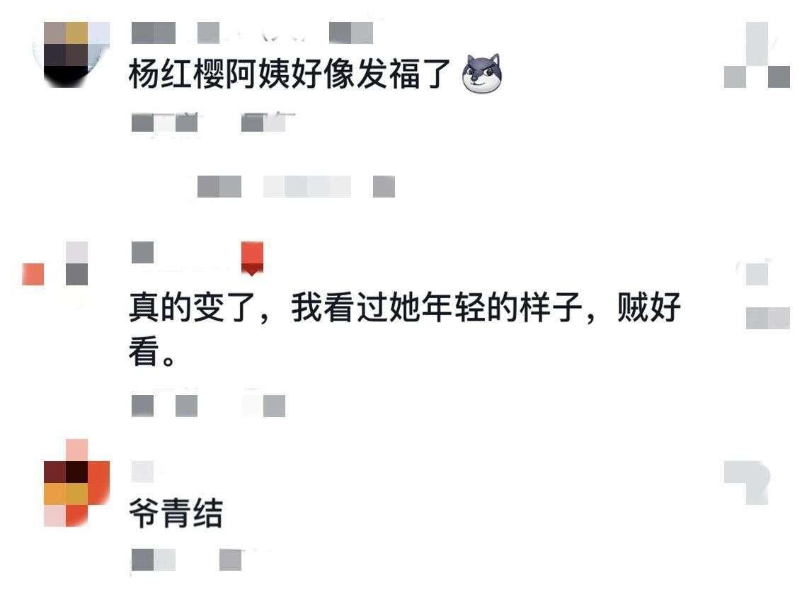 """""""90后的青春""""杨红樱罕露面,发福太多脸僵难看,网友:爷青结"""
