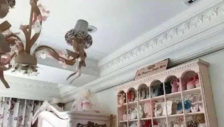 王诗龄的房间,多多的房间,甜馨的房间,三人的差距未免也太大了