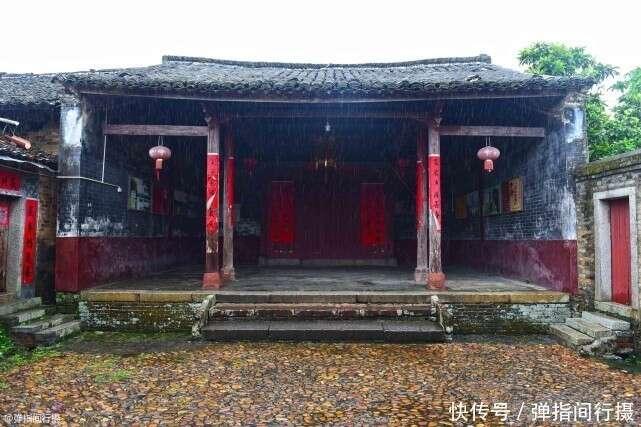 """广东鲜为人知的客家古村,是苏东坡后人聚居地,号称""""画里乡村"""""""