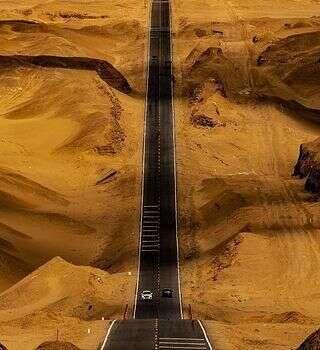 G315国道行走在无人区----孤独的行者走孤独的路- 楠木轩