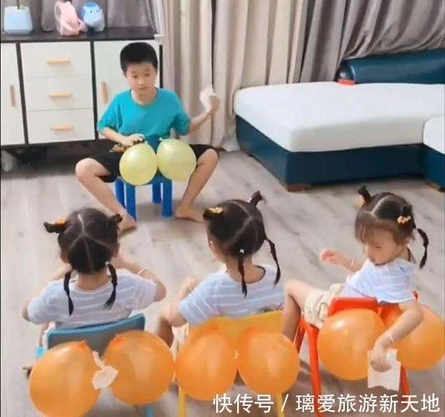 「操心哥哥」火了,3個妹妹即將上幼兒園,哥哥提前傳授實用技能