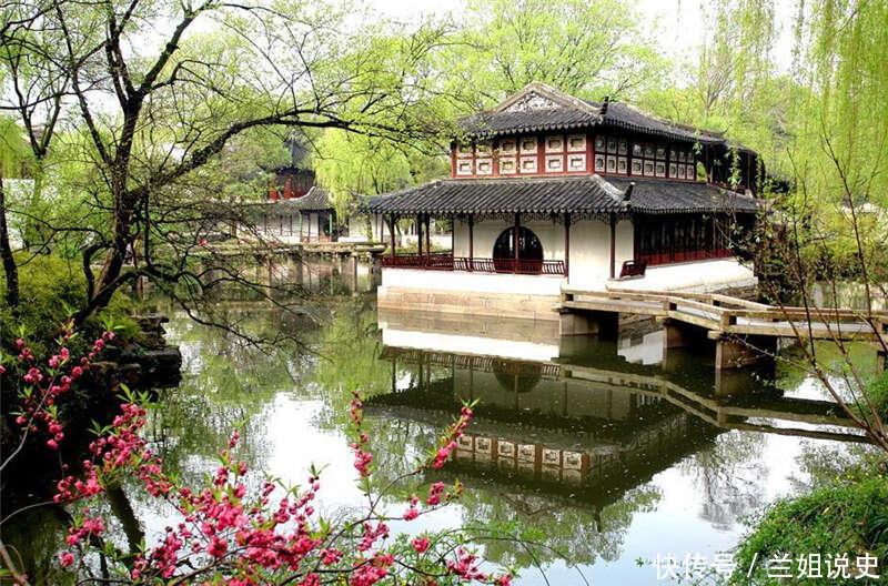 拙政园处处有宝,元朝的古井、明朝的柱基、清朝的雕花!