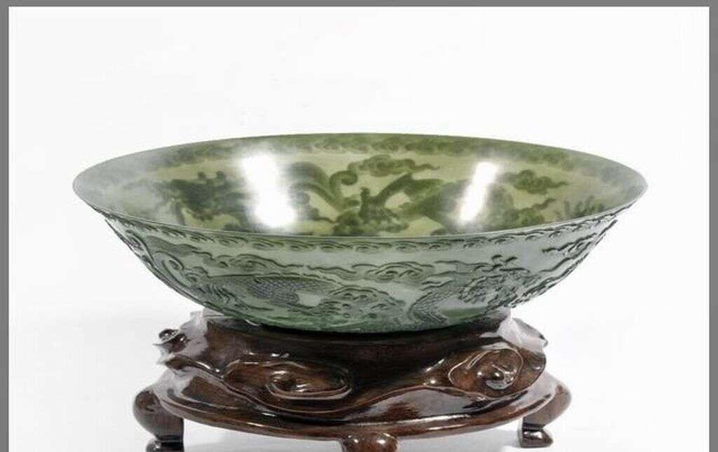 玉雕器皿:既实用又艺术的玉器,那才是精致