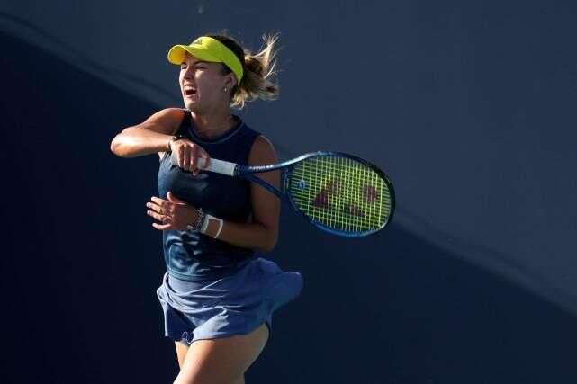 (外代二線)網球——邁阿密公開賽:穆古拉扎晉級